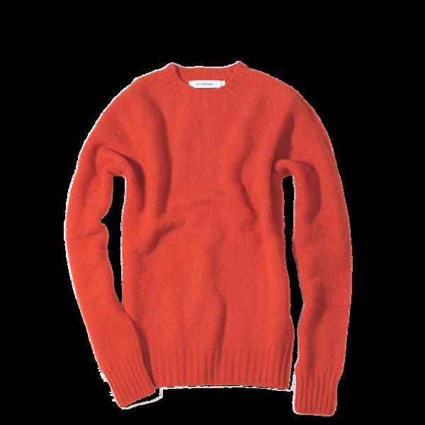 Westerlind 100% Wool Crew Neck, Scarlet