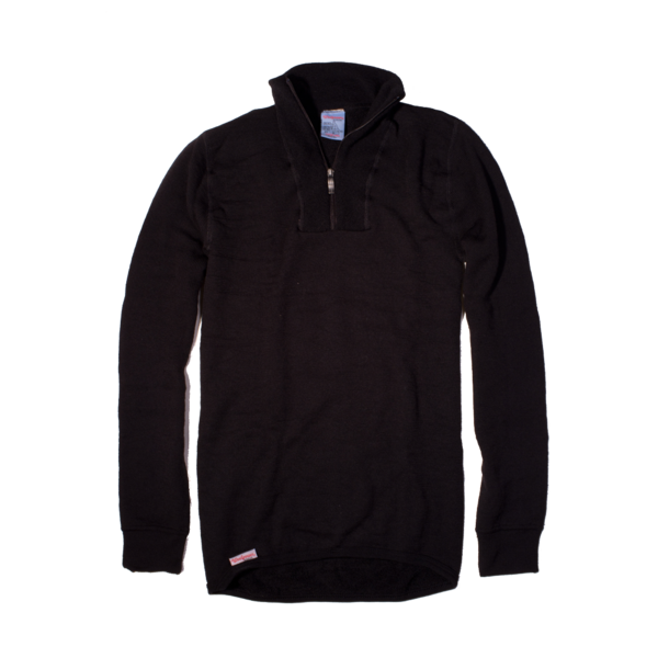 Woolpower 200g Half Zip, Black