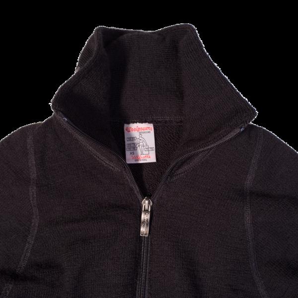 Woolpower 400g Full Zip Jacket, Black