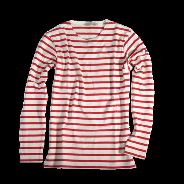 Aviron Fair Trade Cotton Shirt, Nature / Red