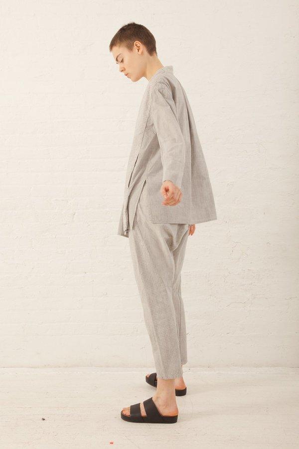 Cosmic Wonder Yama-Nokoromo Sashiko Monpe Pants in Light Sumikuro ... db7f9e3a8aa9c