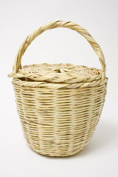 Cloak and Dagger NYC JANE BIRKIN HANDMADE BASKET