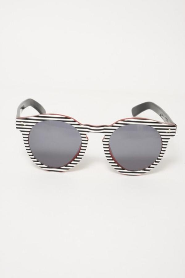 94f0582d9ec1 Illesteva Leonard 2 Stripes Sunglasses | Garmentory