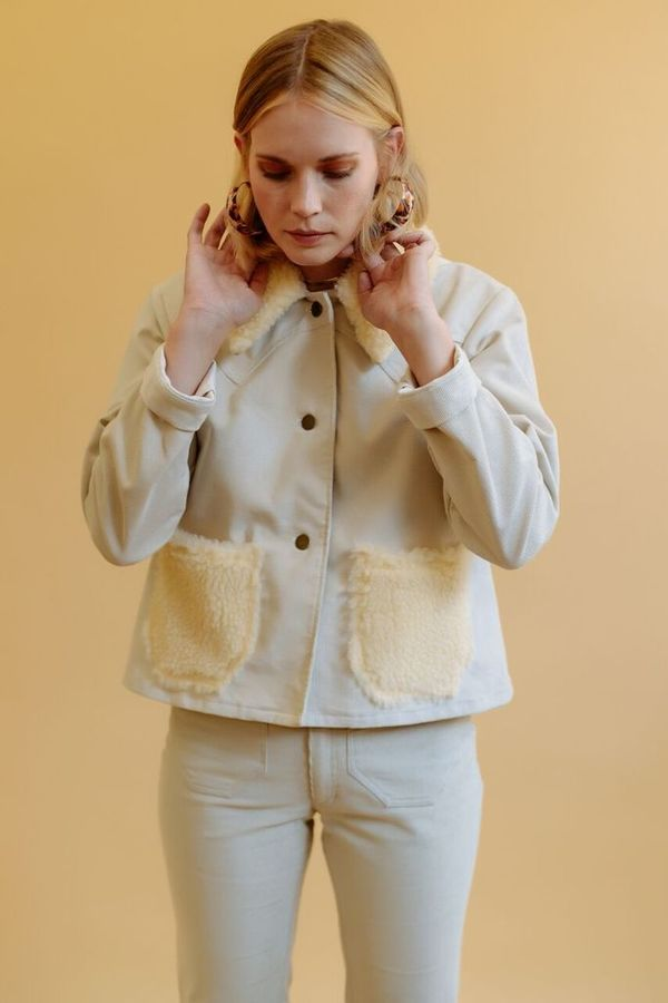 Lykke Wullf Ranch Jacket With Fur