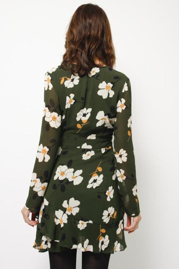 Eli Bet San Francisco Ruffle Dress