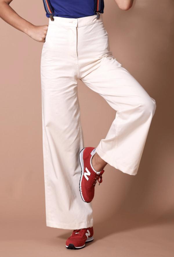 Sugarhigh Lovestoned Woody Pants - Cream