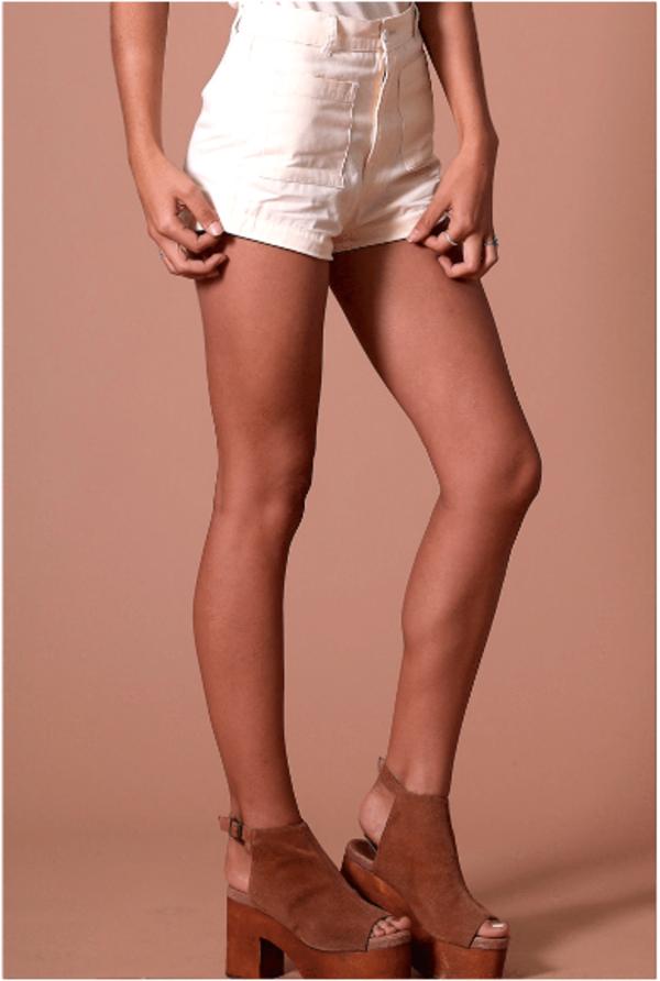 Sugarhigh Lovestoned Woody Shorts - Cream