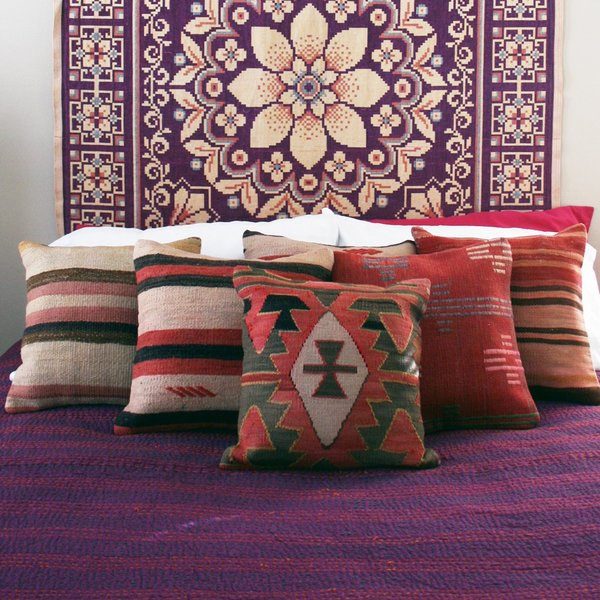 Valiente Goods Antonia Reversible Mexican Woven Tapestry