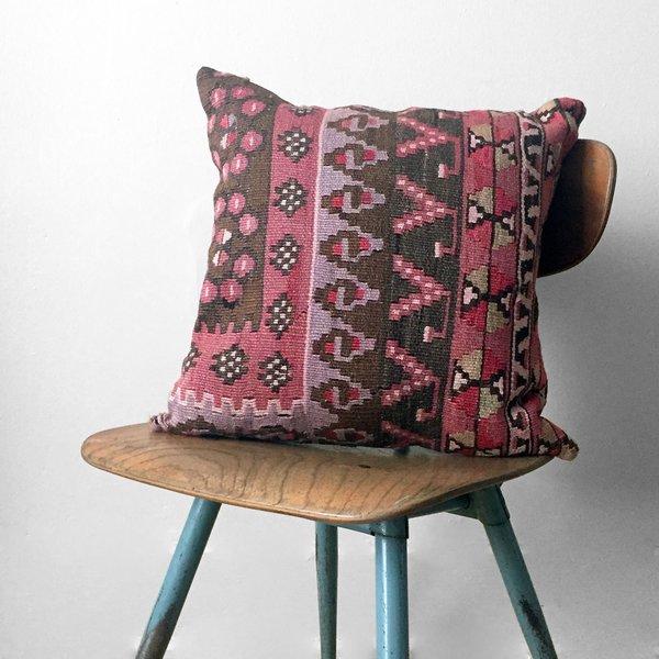 Carmel Vintage Kilim Pillow Cover