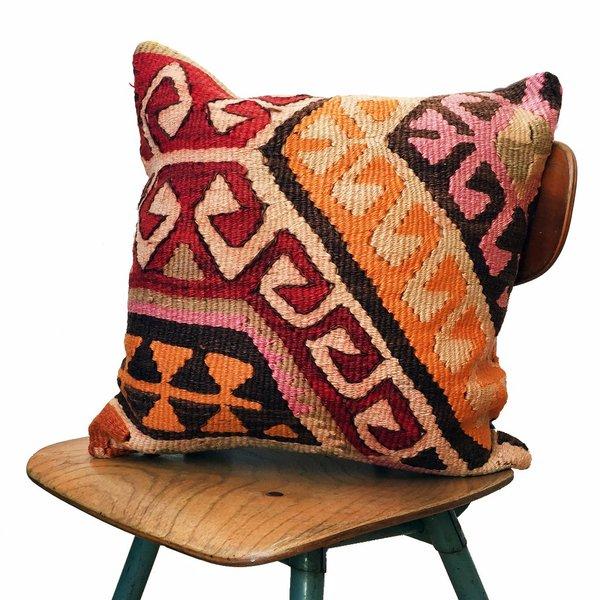 Valiente Goods Carolina Vintage Kilim Pillow Cover