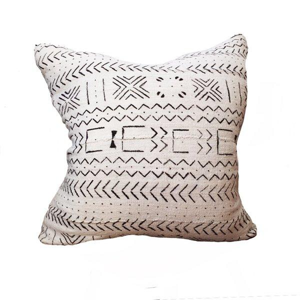Large Mud Cloth Pillow No. 02