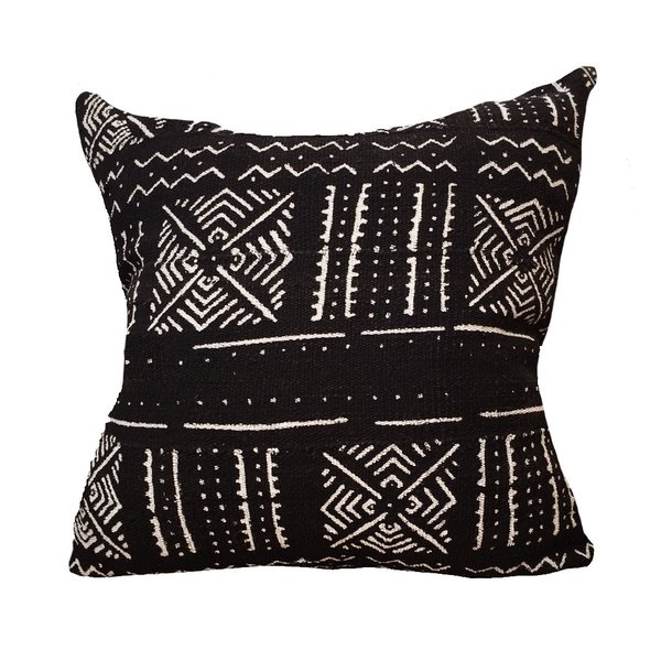 Large Mud Cloth Pillow No.04