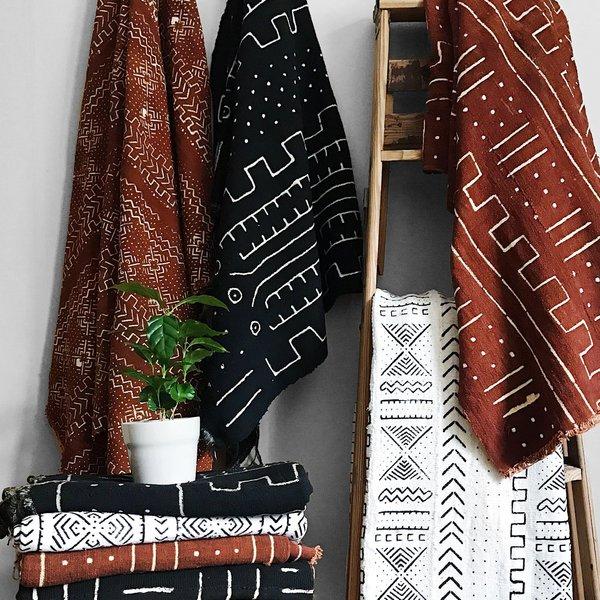 Valiente Goods Mica African Mud Cloth