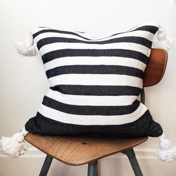 Valiente Goods Moroccan Pom Pillow No.02