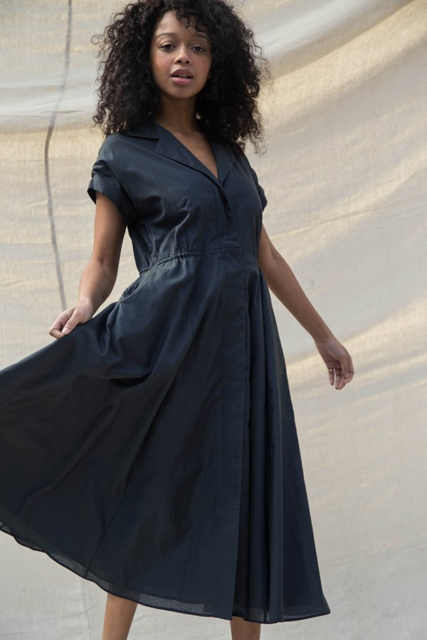 Nikki Chasin RALLY DRESS - NAVY