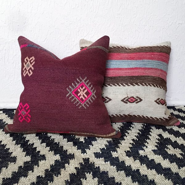 Selma Vintage Kilim Pillow Cover