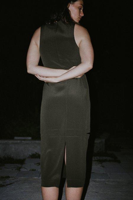NOMIA Pierced Tank Dress - Moss