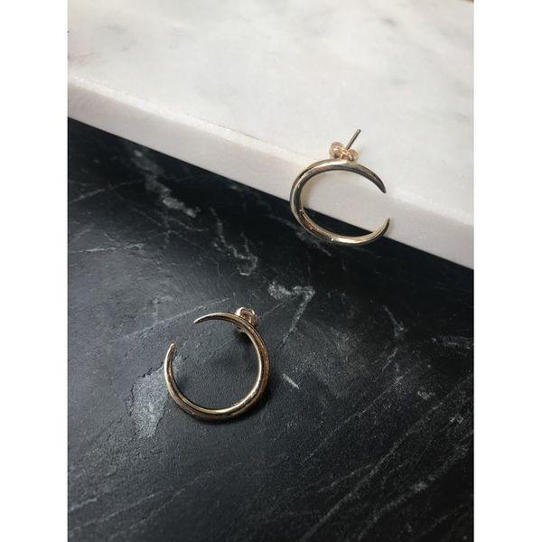 Gabriela Artigas Eternal Yellow Gold Earrings