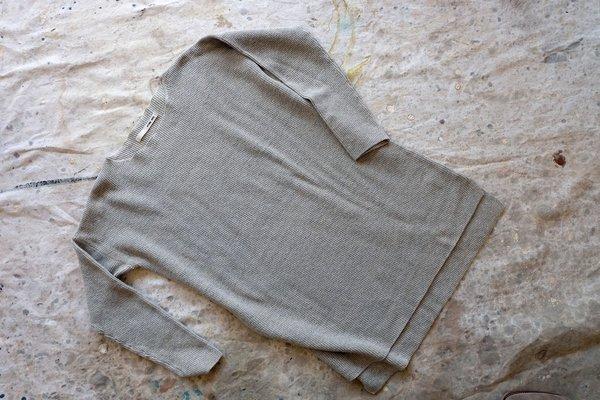 Evam Eva Japan Cotton Linen Tunic Sweater
