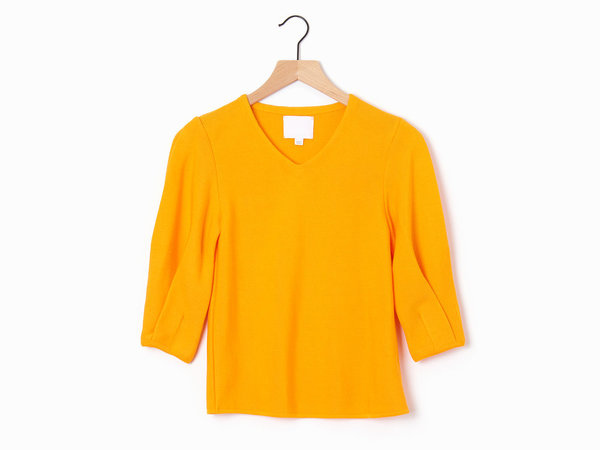 Molli Elle Knit Top - Apricot