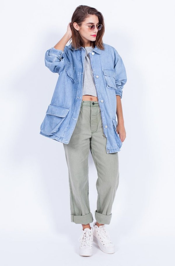 Yo Vintage! Denim Jacket - Med/Large