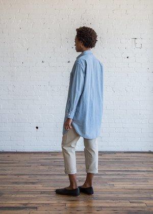 Chimala US Chambray Long Shirt Light Chambray