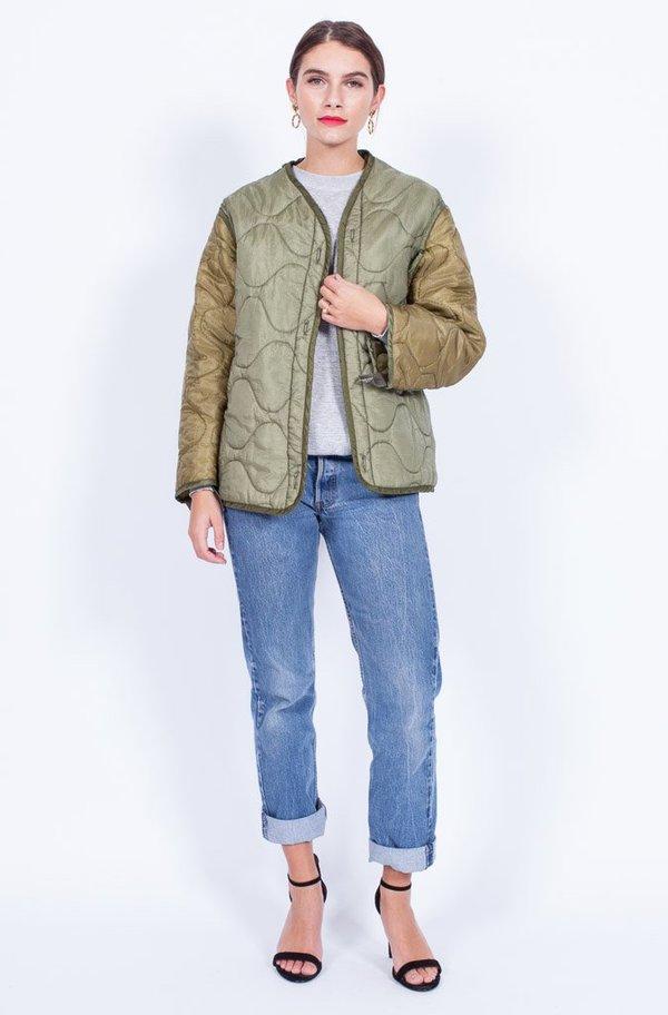 Yo Vintage! Two Tone Liner Jacket - Medium