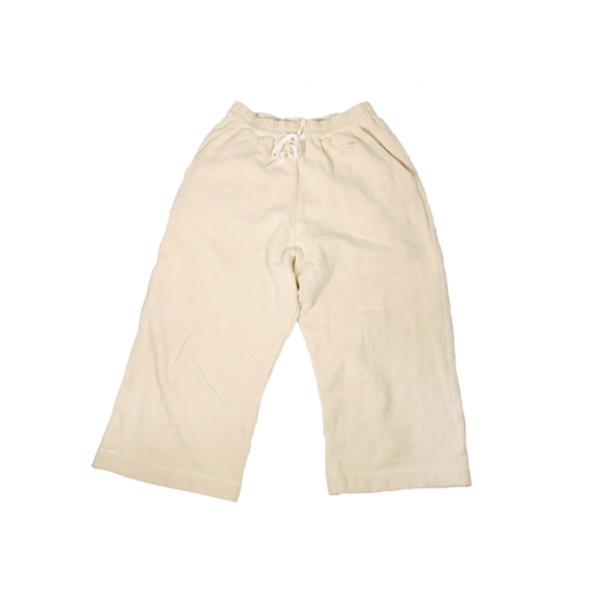 Westerlind Unisex Wide Leg Pant - 9.7oz French Terry, Natural