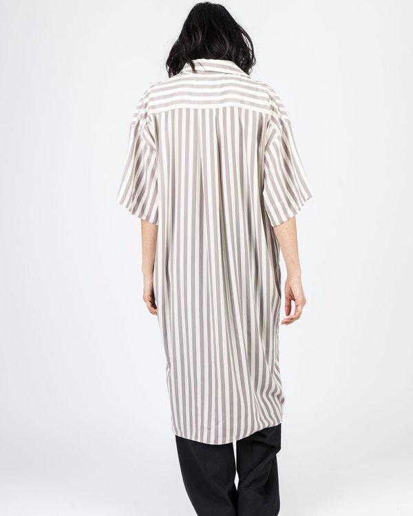 Maiden Noir Shirt Dress - Stripe