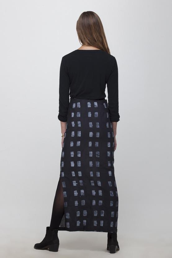 Osei-Duro Column Skirt | Dominos