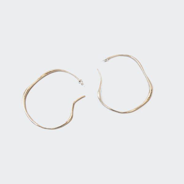FARIS Large Vero Hoops - Bronze