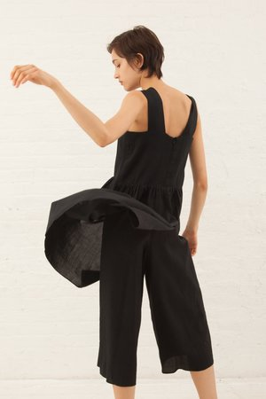Correll Correll Apro Jumpsuit in Black