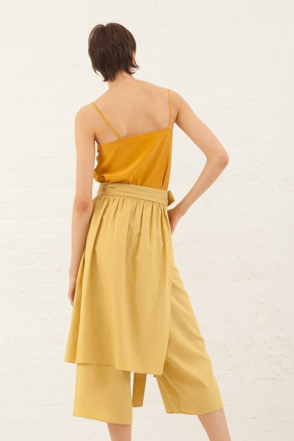 Correll Correll Lace Camisole in Gold