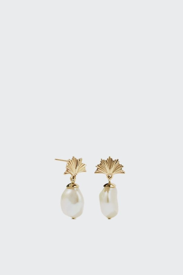 Meadowlark Vita Drop Earrings Small - Gold