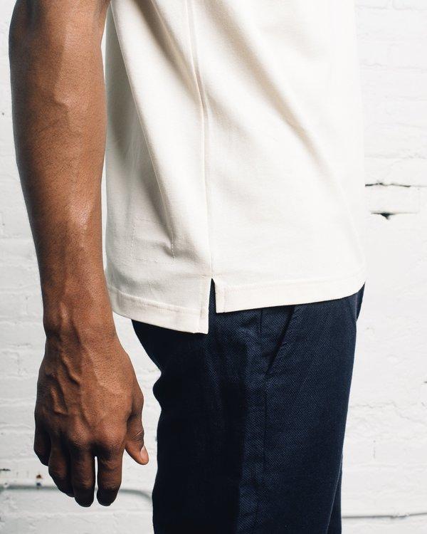 Universal Works Piquet Shirt - Ecru