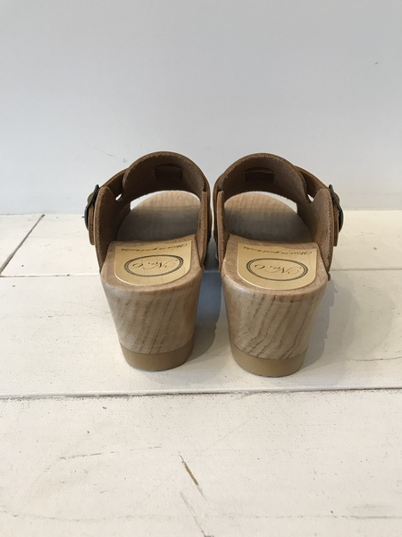 No.6 Sadie Clog On Mid Heel