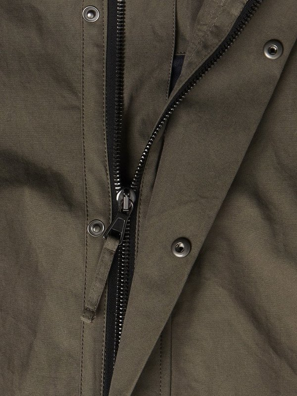 Albam Canvas MK3 Parka in Olive