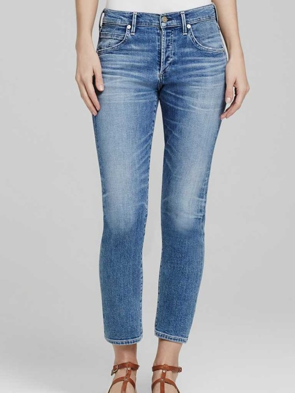 Citizens of Humanity Elsa Crop Jeans in Pacific