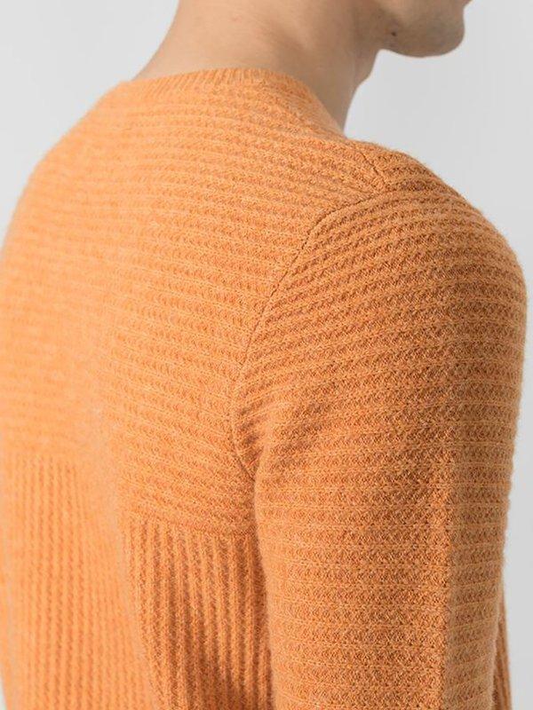 Folk Signal Knit - Orange