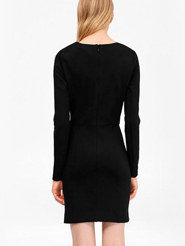 French Connection Lula Dress in Black