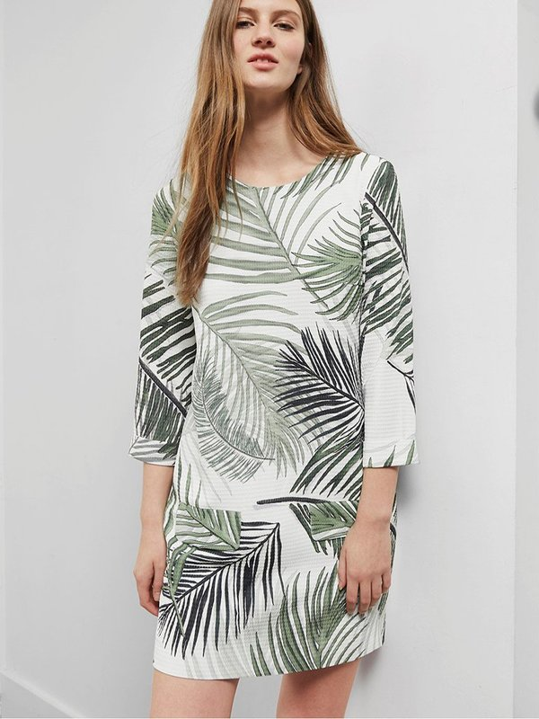 Great Plains Palm Camo Dress