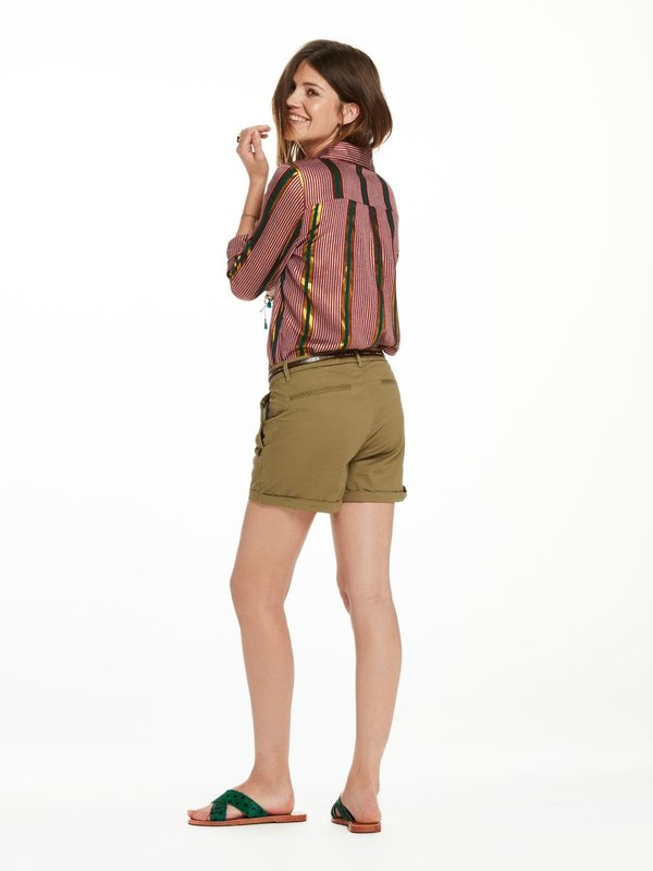 Maison Scotch Chino Short in Khaki