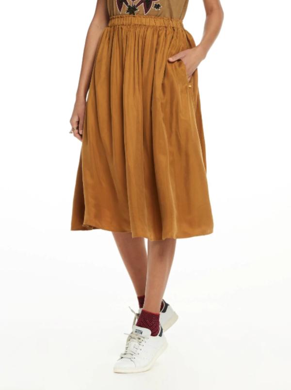 4ec654fae7 Maison Scotch Cupro Skirt | Garmentory