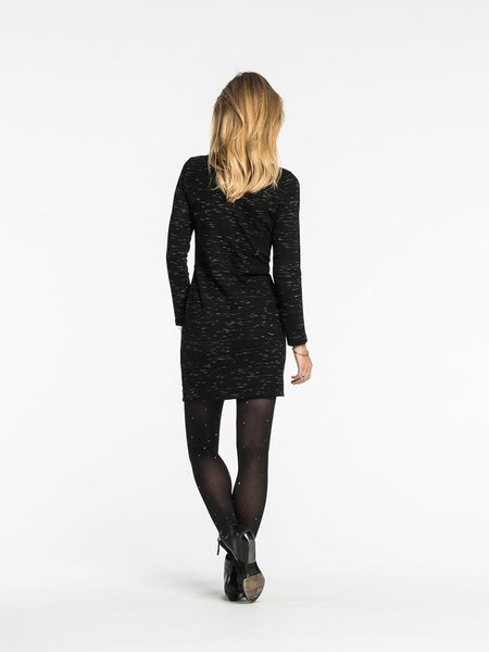 Maison Scotch Fitted Dress - black