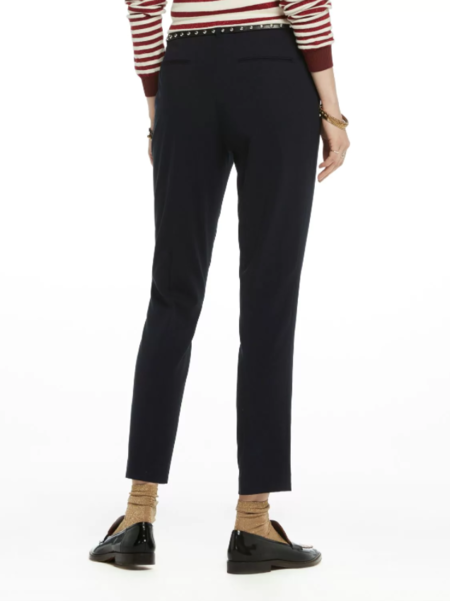 Maison Scotch Tailored Trousers - Navy