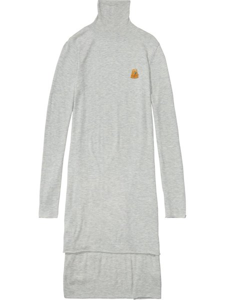 Maison Scotch Tunic Knit - Grey Melange