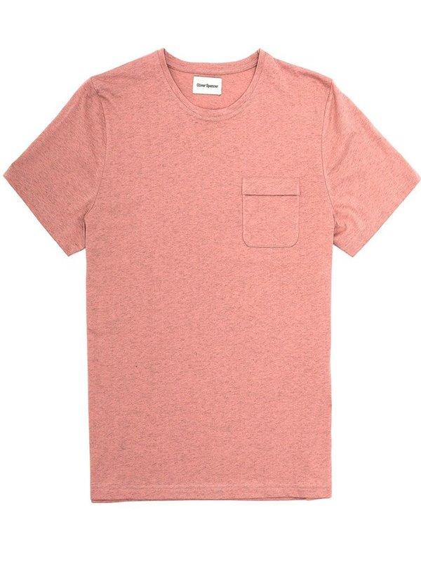 Oliver Spencer Envelope T-Shirt in Warren Pink