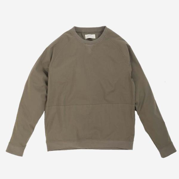 Kestin Hare Haymarket Map Pocket Sweatshirt - Olive