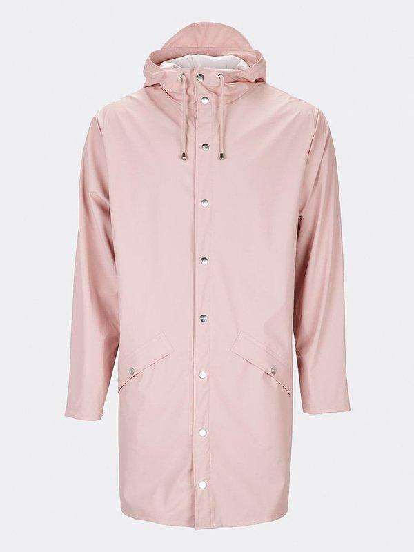Rains Long Jacket - Rose