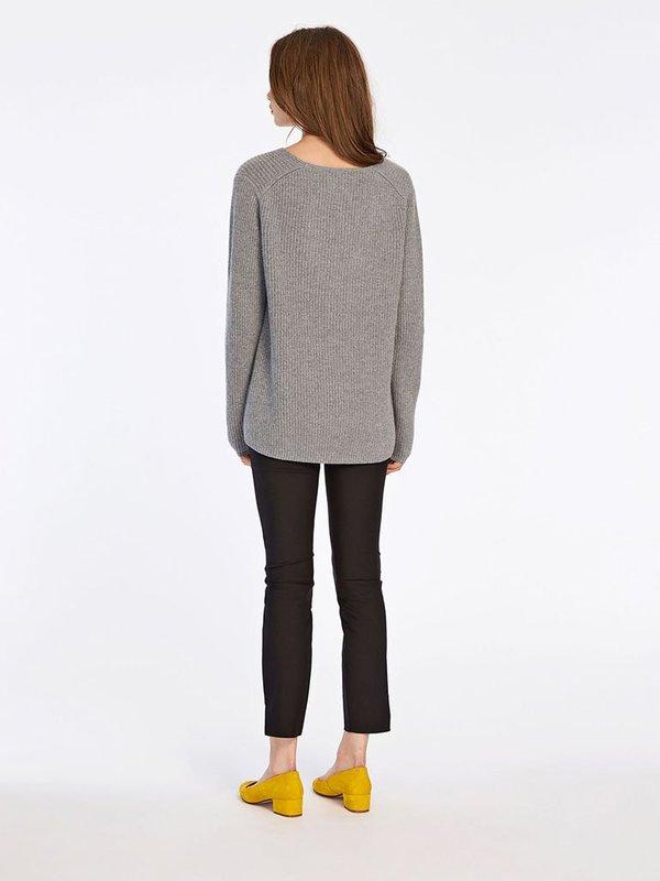Samsoe & Samsoe Zera-V Knit in Grey